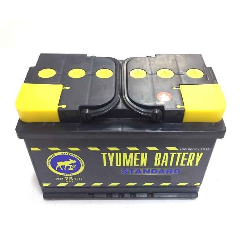 Аккумуляторная батарея STANDARD 6CT-90 L Тюмень